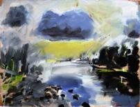 Neue Landschaft II, 48x63