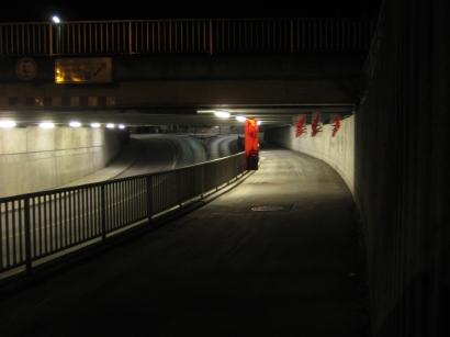 At Work, Installation Bahnunterführung Memmingen