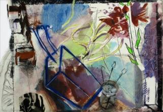 Ateliersimulationsstillleben, 48x63